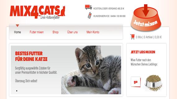 Katzenfutter selbst zusammenstelle