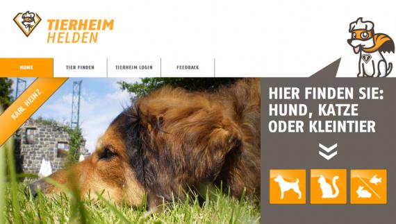 Tierheimhelden Münchner Startup