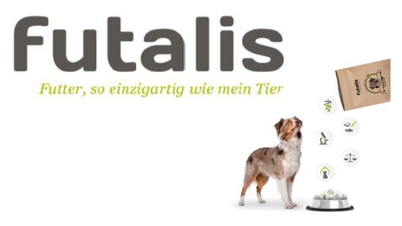 Maßgeschneidertes Hundefutter Konzept