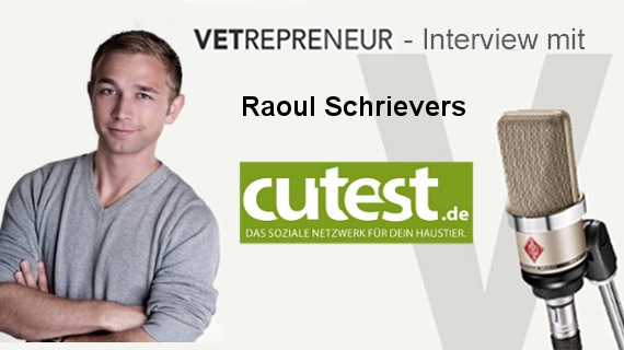 Vorstellung von Raoul Schrievers in der Vetrepreneur Interviewreihe