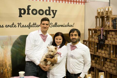 Pfoody wurde aufgrund einer Herzensangelenheit von Irina und Andre Doerk vergangenes Jahr gegründet.